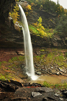 Upper Kaaterskill Falls by Adam Paashaus