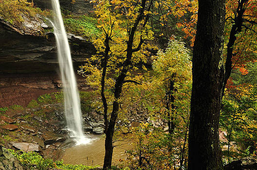 Upper Kaaterskill Falls Hidden View by Adam Paashaus