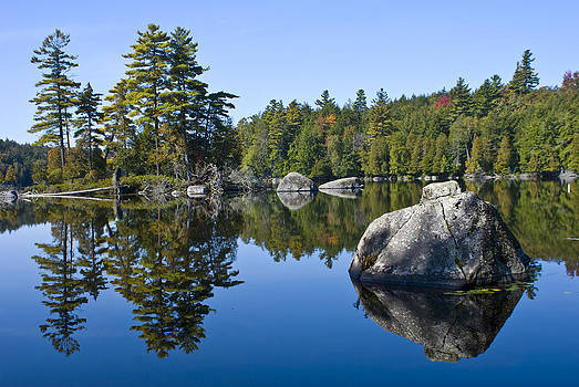 Upper Saranac Lake NY by David Seguin