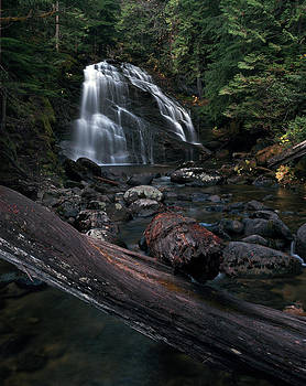 Upper Snow Creek Falls 2 by David Marr