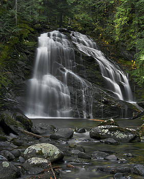 Upper Snow Creek Falls by David Marr