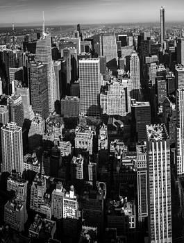 Uptown Manhattan Triptych Left by David Morefield