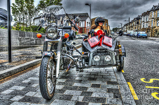 Steve Purnell - Ural Wolf 750 And Sidecar