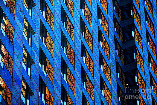 Urban abstract 4 by Jim Wright