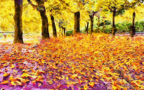 Urban autumn by George Rossidis