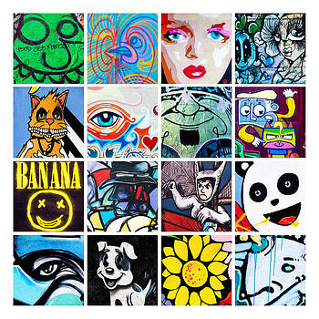 Art Block Collections - Urban Faces