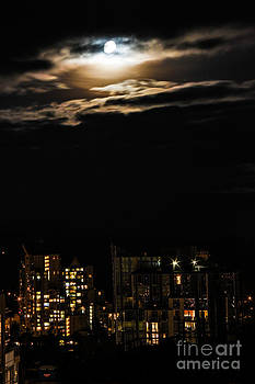 Urban Moon by Nancy Harrison