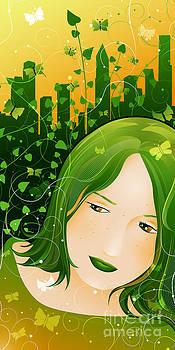 Urban Rosebudd by Sandra Hoefer