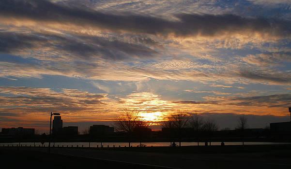Urban Sunset 6 by Dan McCafferty