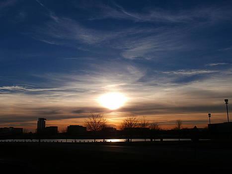 Urban Sunset 9 by Dan McCafferty