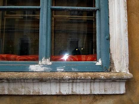 Window with cat by Daniela Nedelea