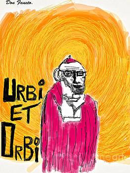 Urbi et Orbi .Cogito ergo Sum. Buenos Dias Ole .2013. by  Andrzej Goszcz