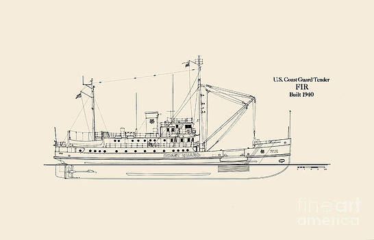 Jerry McElroy - Public Domain Image - U S  Coast Guard Tender Fir