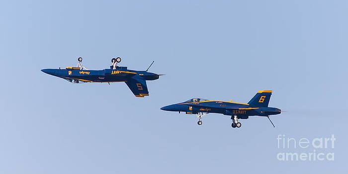 Wingsdomain Art and Photography - US Navy Blue Angels F18 Supersonic Jets 5D29620