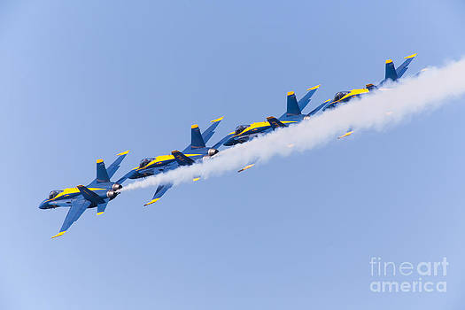 Wingsdomain Art and Photography - US Navy Blue Angels F18 Supersonic Jets 5D29644