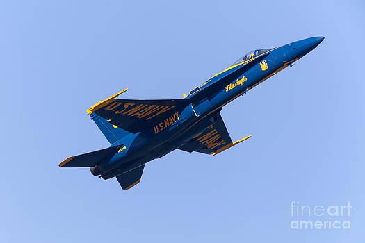 Wingsdomain Art and Photography - US Navy Blue Angels F18 Supersonic Jets 5D29658