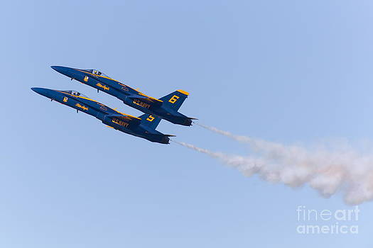 Wingsdomain Art and Photography - US Navy Blue Angels F18 Supersonic Jets 5D29668