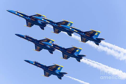 Wingsdomain Art and Photography - US Navy Blue Angels F18 Supersonic Jets 5D29680