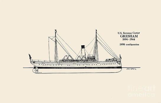 Jerry McElroy - Public Domain Image - U.S. Revenue Cutter Gresham