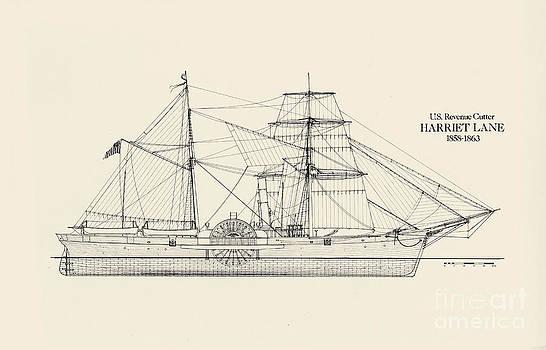 Jerry McElroy - Public Domain Image - U.S. Revenue Cutter Harriet Lane