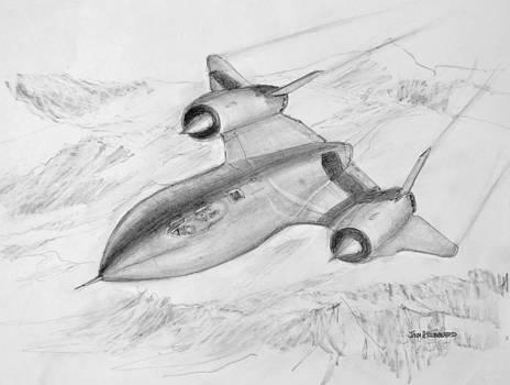 Jim Hubbard - USAF Lockheed SR-71 Blackbird