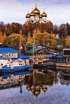 Jenny Rainbow - Uspenski Cathedral in Yaroslavl with Reflections