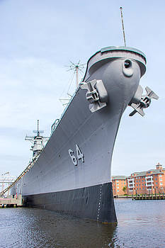 USS Wisconsin by Laurel Butkins