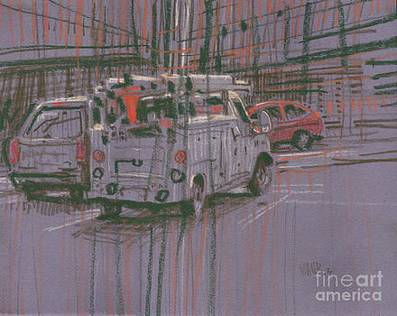 Utility Truck by Donald Maier