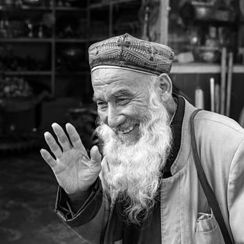 Uyghur hospitality by Stephanus Le Roux