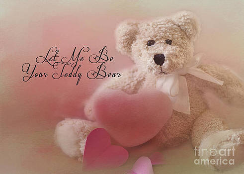 Valentine Bear 2 by Pam  Holdsworth