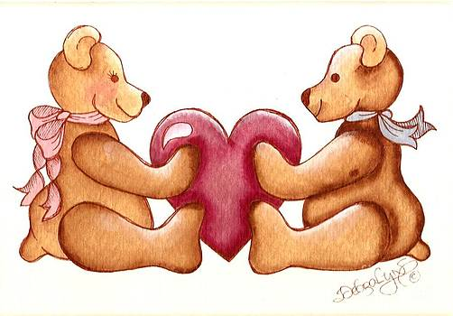 Valentine Bears by Debralyn Skidmore