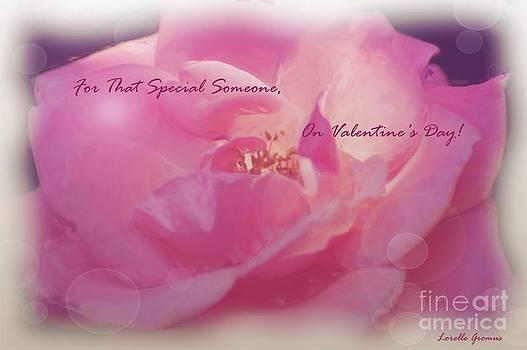 Valentine Card 1 by Lorelle Gromus
