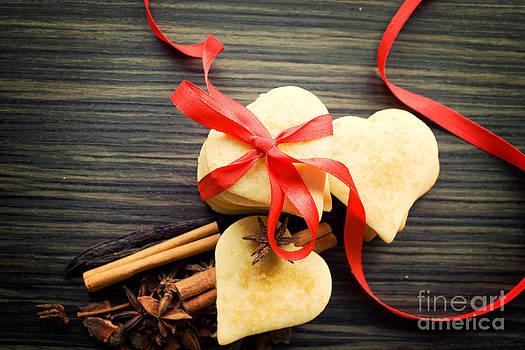 Mythja  Photography - Valentine heart cookies