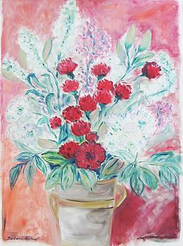 Valentine's Day Flowers by Barbara Anna Knauf