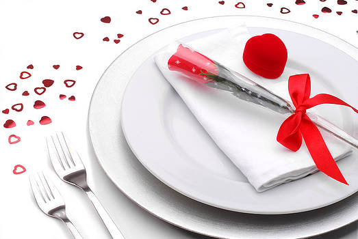 Valentines Romantic Dinner by Norman Pogson