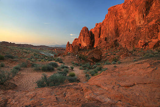 Valley of Fire Trail Evening by Scott Cunningham