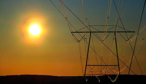 Valley Of Wires by Matti Ollikainen