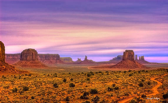 Valley Trail by Darryl Gallegos