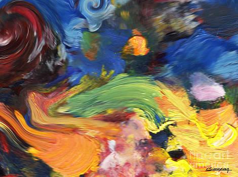 Van Gogh inpsiration by Christian Simonian