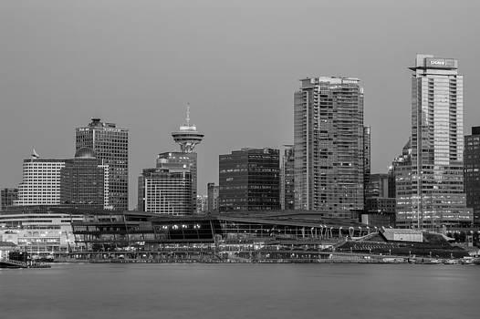 Vancouver at Dusk by Volodymyr Kyrylyuk
