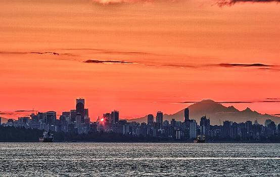 Vancouver BC Morning by Scott Holmes