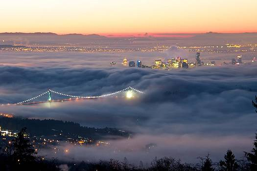 Vancouver Fog by Scott Holmes