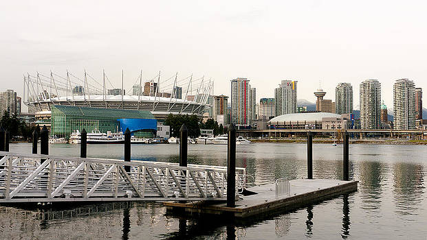 Vancouver from Olympic Village by Dirk Lightheart