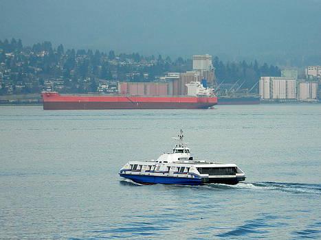 Nicki Bennett - Vancouver Sea Bus