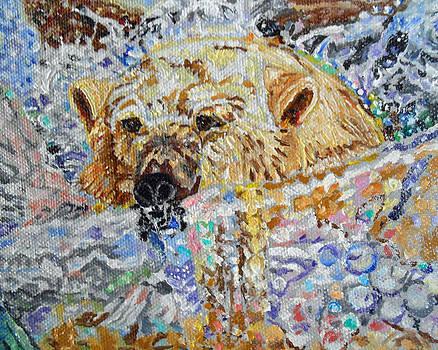 Vanishing bear by Sandra Wilson