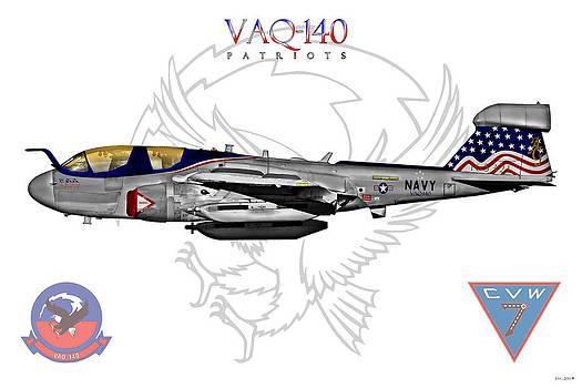 VAQ-140 Prowler Sundown 2014 by Clay Greunke