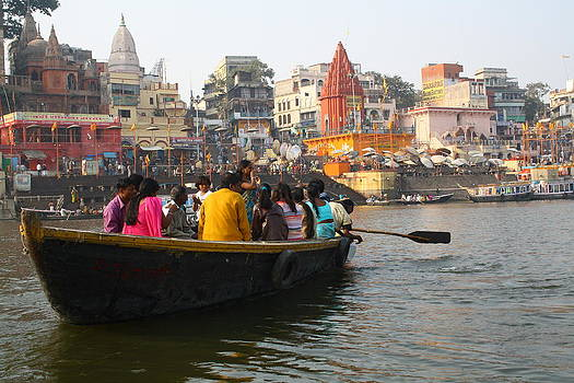 Varanasi by Santosh Jaiswal