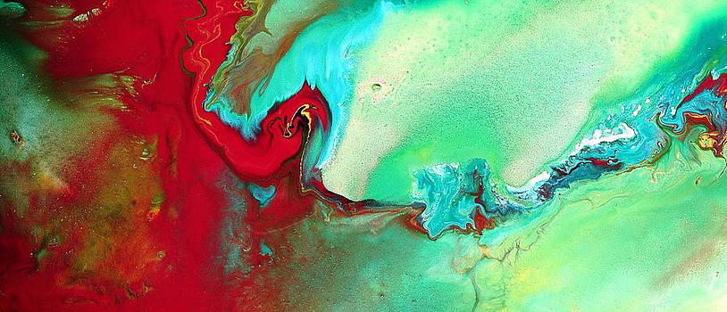 VARIETY - Colorful Fluid Abstract Art by kredart by Serg Wiaderny