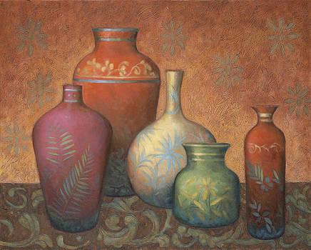 Various Urns by Debra Lake