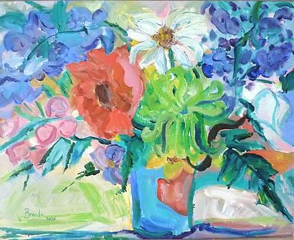 Vase of Flowers by Brenda Ruark